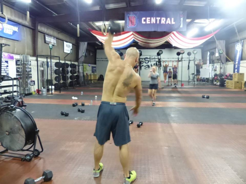 DL DB Snatch